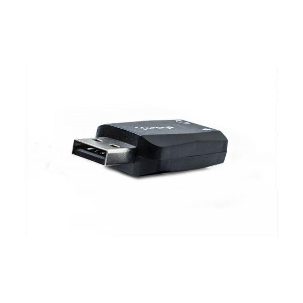 ADAPTADOR DE AUDIO USB VORAGO ADP-201 3.5mm 5.1