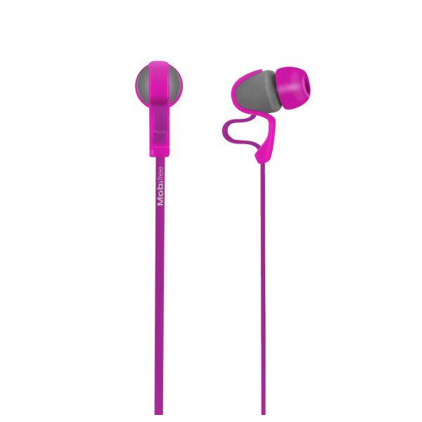 AUDIFONOS ACTECK IN-EAR CON MICROFONO URBAN KAOS LILA MB-916417