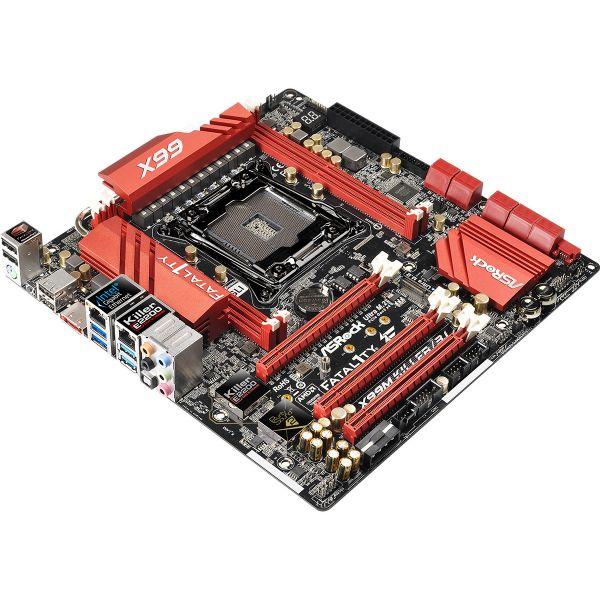 TARJETA MADRE ASROCK X99M KILLER/3.1 DDR4 USB3.1 SOC 2011-3 SLI M2