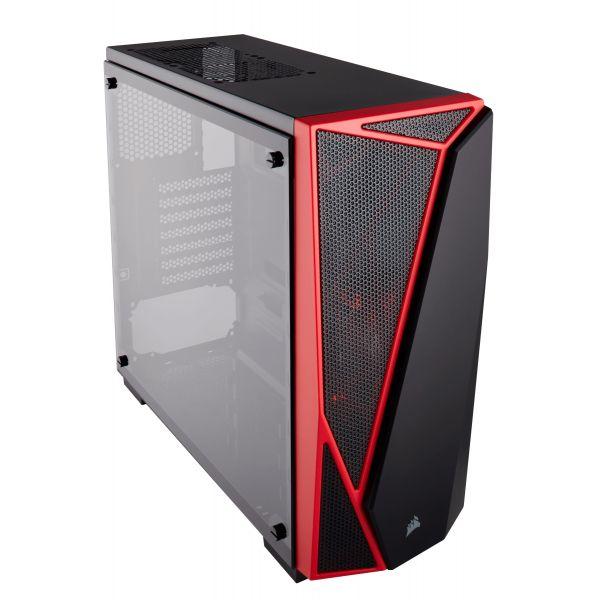 GABINETE CORSAIR SPEC-04 BK/RED TG ATX USB 3.0 CC-9011117-WW