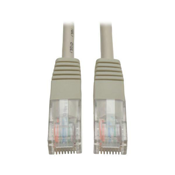 CABLE PATCH TRIPP LITE CAT5E UTP RJ45 GRIS 3.66M N002-012-GY
