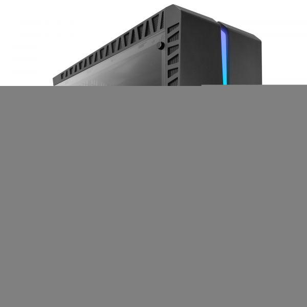 GABINETE GAMER AEROCOOL SCAR ATX RGB NEGRO
