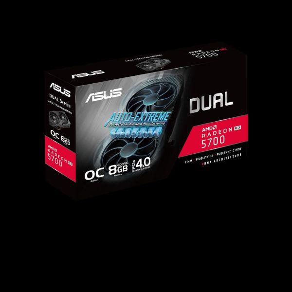 TARJETA DE VIDEO ASUS DUAL RX5700 8GB GDDR6 EVO DUAL-RX5700-O8G-EVO