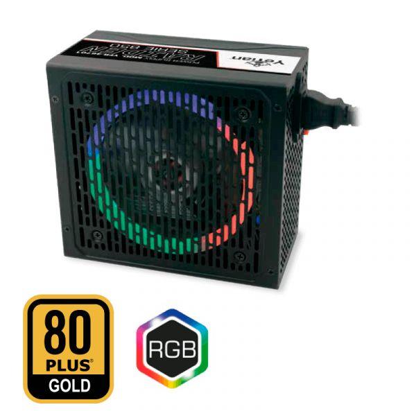 FUENTE DE PODER GAMER YEYIAN RAIDEN 850W MODULAR 80+ GOLD YFR-46701