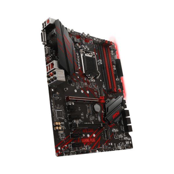 TARJETA MADRE MSI Z390 GAMING PLUS DDR4-SDRAM 64 GB INTEL LGA1151 ATX
