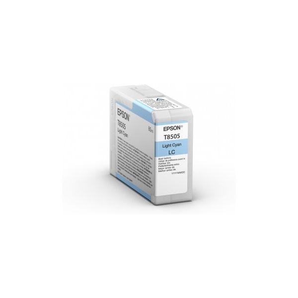 CARTUCHO EPSON T85 CYAN LIGHT SC-P800 80ML (T850500)