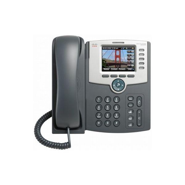 CISCO TELÉFONO IP DE 5 LÍNEAS CON PANTALLA BLUETOOTH NEGRO SPA525G2