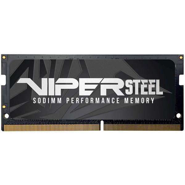 MEMORIA RAM SODIMM PATRIOT VIPER STEEL 8GB 2666MHZ PVS48G266C8S