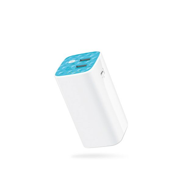 POWER BANK BATERIA DE 10400MAH 2 PUERTOS USB TL-PB10400