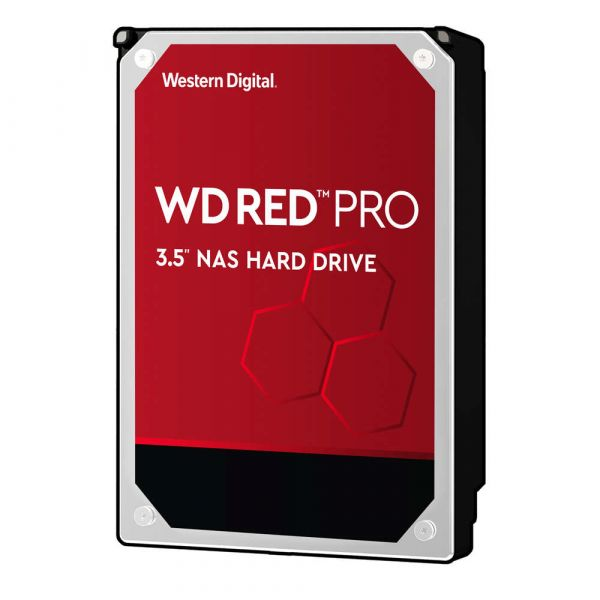 DISCO DURO INTERNO WD 12TB 3.5 256MB SATA3 7200 NAS RED PRO WD121KFBX