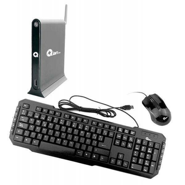 MINI PC KIT QIAN XIAO, INTEL CORE I5-4200U 1.60GHZ, 4GB, 1TB, FREEDOS