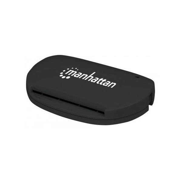 LECTOR DE TARJETAS MANHATTAN + SMART SIM USB 2.0 102032