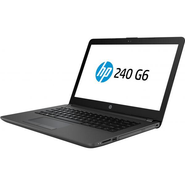 LAPTOP HP 240 G6 CORE I3 DDR3L 4GB 500GB 14'' HD G520 RW WIN10 2SF07LT