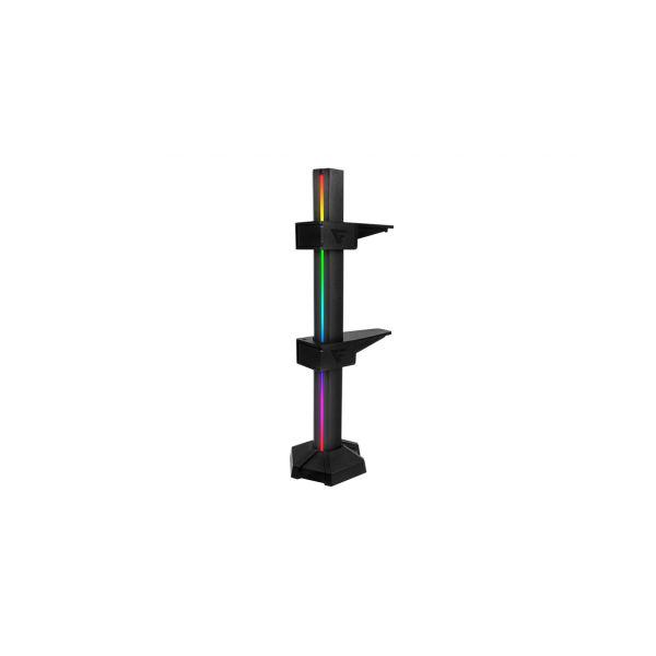 SOPORTE PARA TARJETA DE VIDEO GAME FACTOR GSG500 AJUSTABLE NEGRO RGB