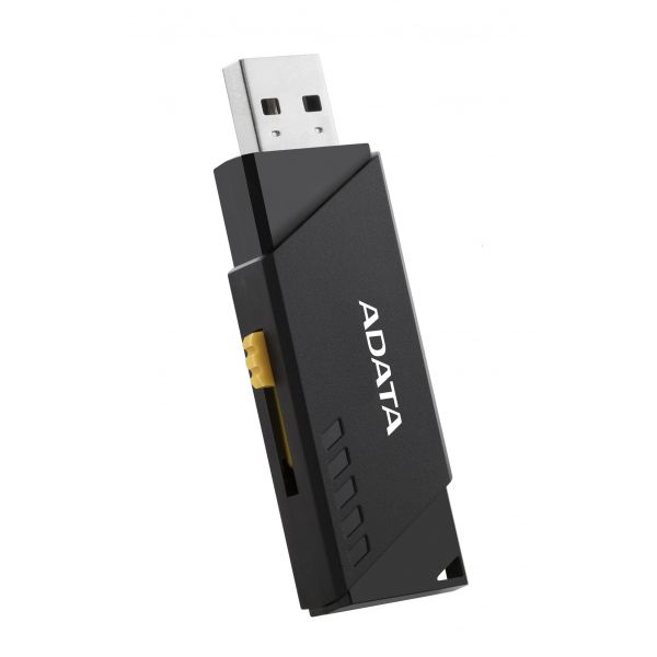 MEMORIA FLASH ADATA UV230 16GB USB 2.0 NEGRO PC-MAC AUV230-16G-RBK