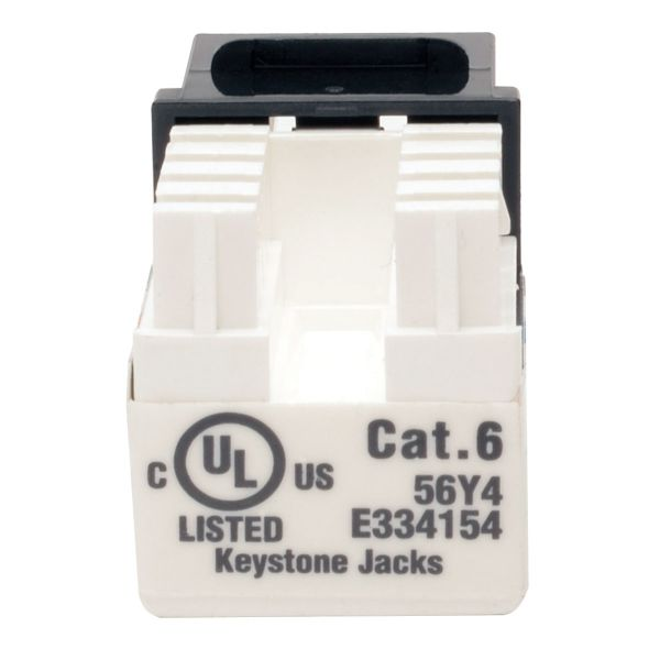 CONECTOR KEYSTONE TRIPP LITE JACK 110 PUNCHDOWN CAT6/5E NEGRO