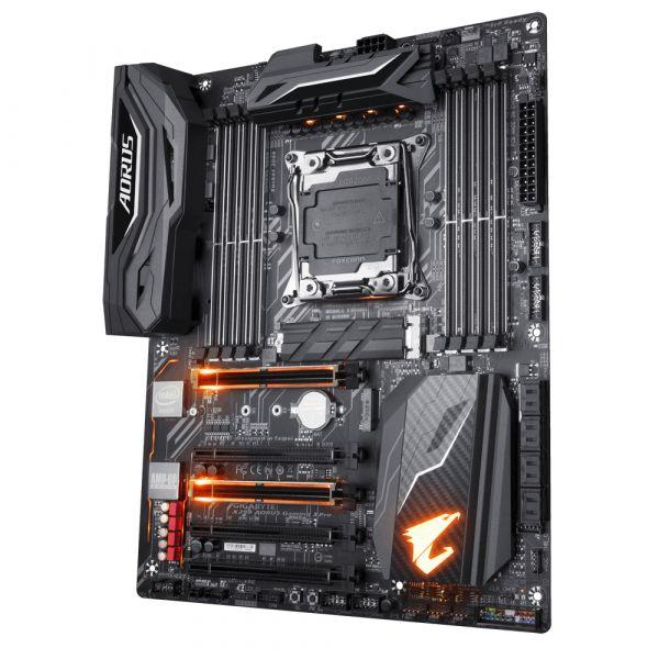 TARJETA MADRE GAMING GIGABYTE X299 AORUS PRO DDR4-SDRAM 128GB LGA2066