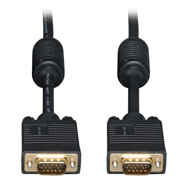 CABLE VGA TRIPP LITE VGA (D-SUB) MACHO 4.57M NEGRO P502-015