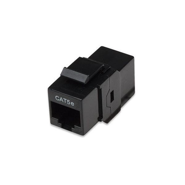 COPLE DE RED INTELLINET CAT5E NEGRO 504775