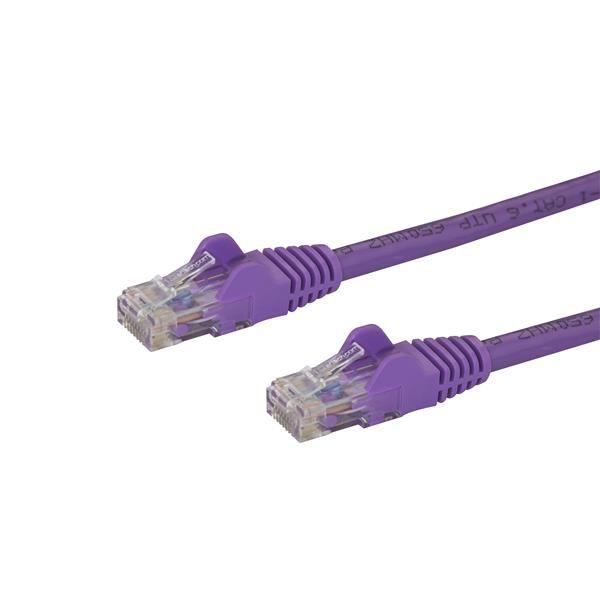 CABLE PATCH STARTECH.COM CAT6 UTP RJ-45 MACHO 3M MORADO C6PATCH10PL
