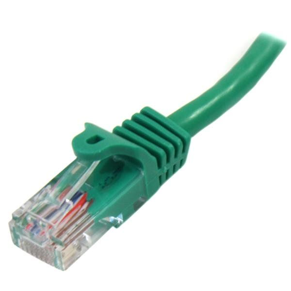 CABLE PATCH STARTECH 0.5M VERDE CAT5E RJ-45 MACHO 45PAT50CMGN