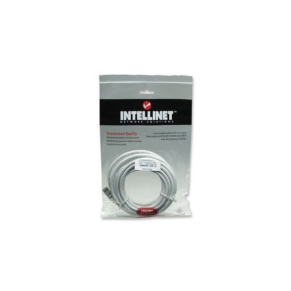 CABLE DE RED INTELLINET PATCH CAT6 RJ45 7.6M BLANCO 341998