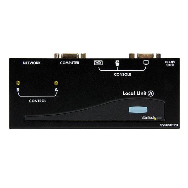 EXTENSOR DE CONSOLA KVM USB CAT5 UTP RJ45 150M  STARTECH SV565UTPU
