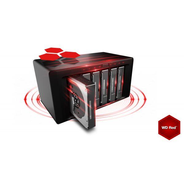 DISCO DURO INTERNO WD 8TB 3.5 WD80EFZX 64MB SATA3 IntelliPower RED