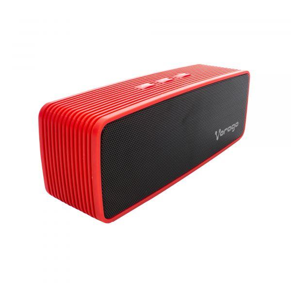BOCINA VORAGO BSP-100 V2 BLUETOOTH MANOS LIBRES USB MSD FM ROJO
