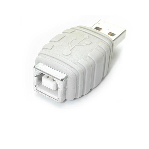 Cambiador de Genero USB A  Macho a USB B Hembra  STARTECH GCUSBABMF