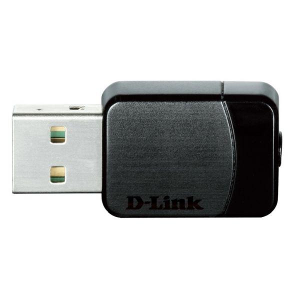 ADAPTADOR DE RED D-LINK USB AC DUAL BAND 2.4G/5G DWA-171