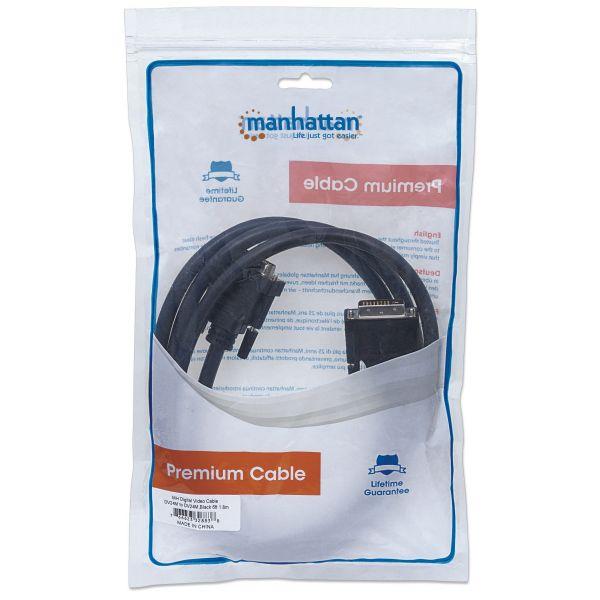 CABLE MANHATTAN DVI D ENLACE DUAL M-M 1.8M 328838