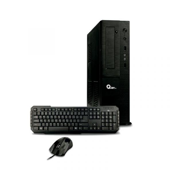 COMPUTADORA QIAN SLIM BAO CORE i3 8100 8GB 500GB WIN HOME (QCS190004)