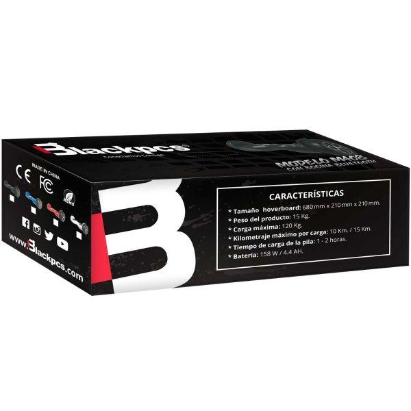 HOVERBOARD ELECTRICO BLACKPCS M408-B AZUL 10 KM/H