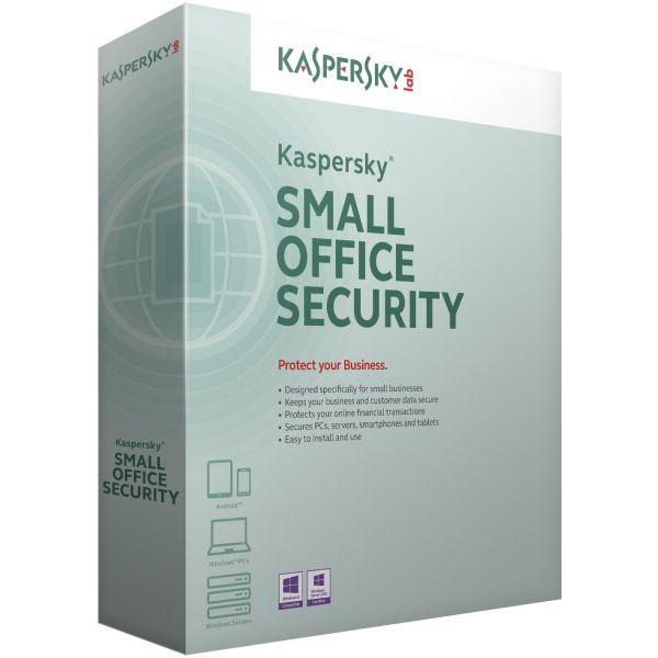 ANTIVIRUS KASPERSKY SMALL OFFICE SECURITY-5-9 LICS 1 AÑO(S)