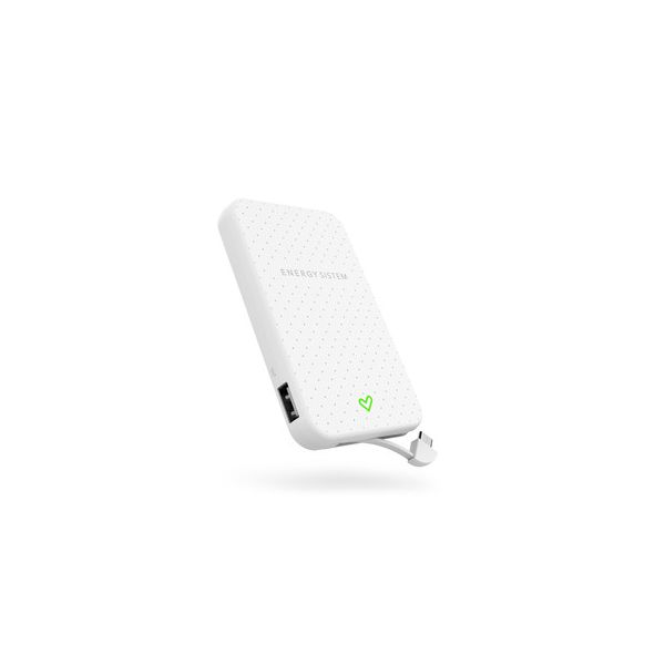 POWERBANK ENERGY SISTEM 5000 MAH BLANCO VARIOS 5 V 1 EY-424450