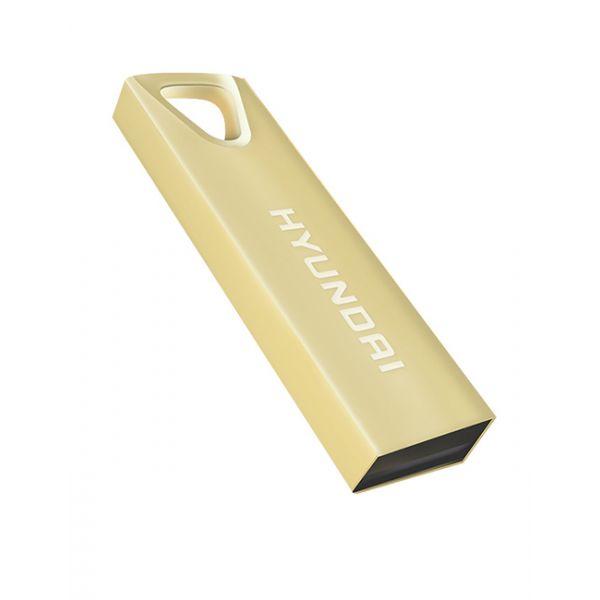 MEMORIA USB HYUNDAI U2BK/8GAG ORO 8 GB USB 2.0 10 MB/S 3 MB/S
