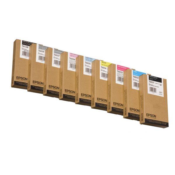 TINTA EPSON CYAN STYLUS PRO 7800/7880/9800/9880 220 ML (T603200)