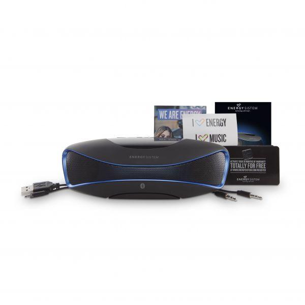 BOCINA ACTECK ENERGY BLUETOOTH MUSIC BOX BZ3 CABLE USB 2,0