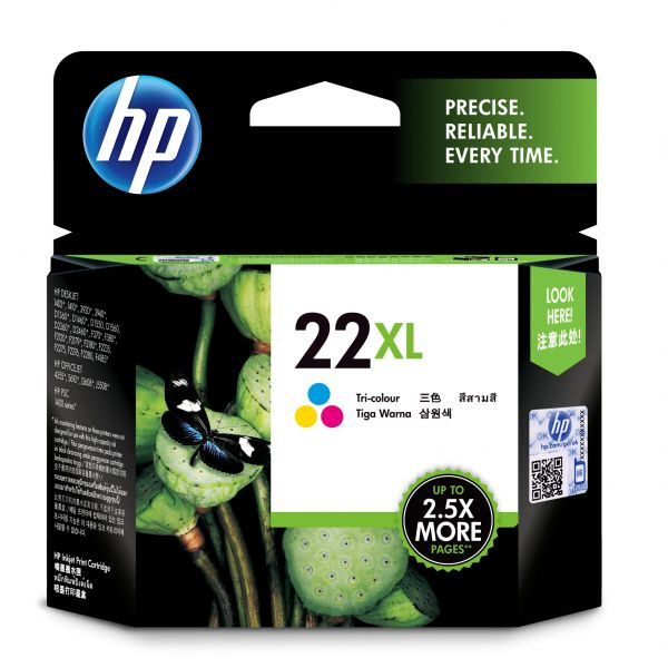 CARTUCHO HP 22XL TRICOLOR  PARA D1320/PSC140/1250 (C9352CL)