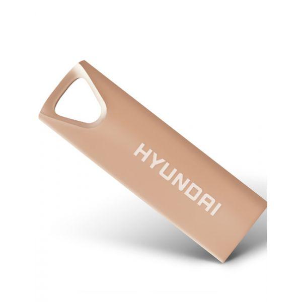 MEMORIA USB HYUNDAI U2BK/8GARG ORO ROSA 8 GB USB 2.0 10 MB/S 3 MB/S