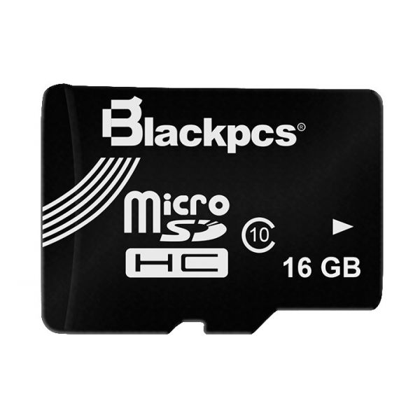 MEMORIA MICRO SDHC BLACKPCS 16GB CLLAS 10 MODELO 101 (MM10101-16)