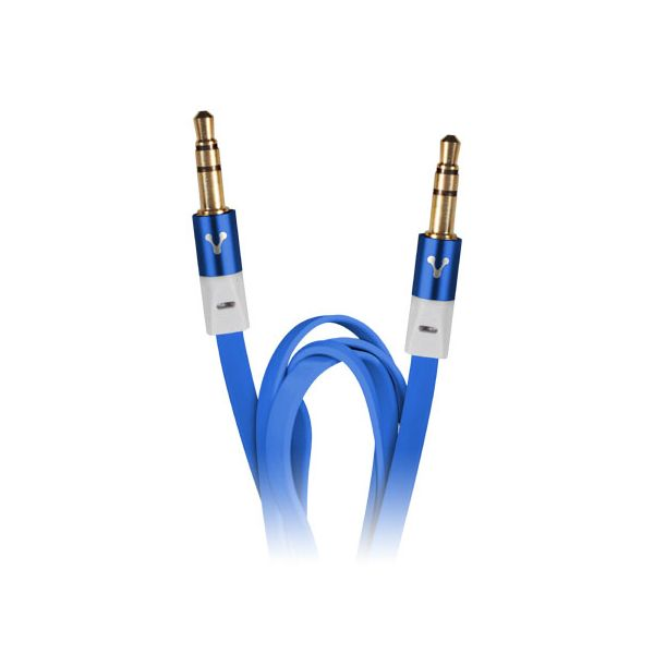 CABLE DE AUDIO VORAGO 1 5 M 3.5MM AZUL CAB-108-azul
