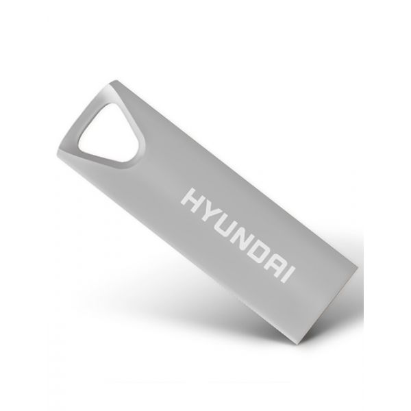 MEMORIA USB HYUNDAI U2BK/8GAS PLATA 8 GB USB 2.0 10 MB/S 3 MB/S