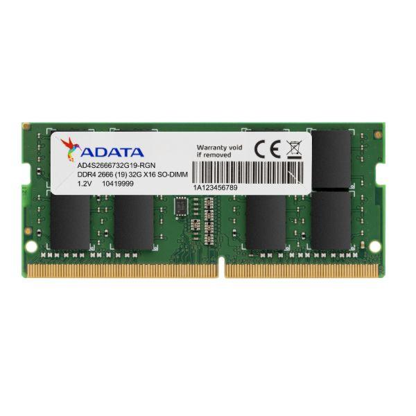 MEMORIA RAM SODIMM ADATA PREMIER 8GB DDR4 2666MHZ AD4S26668G19-SGN