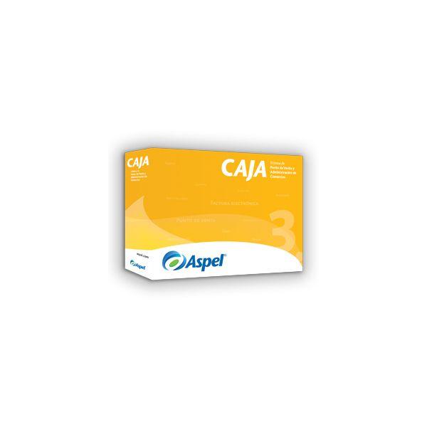 SOFTWARE ASPEL CAJA 3.5 1USUARIO 1 EMPRESA CON POLIZA 300MB (CAJA1PD)