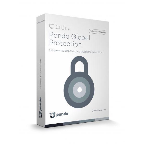 GLOBAL PROTECTION PANDA 2017 ESPAÑOL 3 USUARIOS 1 AÑO A12GPMB
