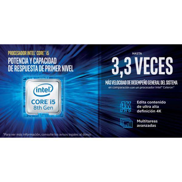 COMPUTADORA HP MINI PRODESK 600 G4 CORE I5 8500 8GB 256GB W10P 5MA95LA