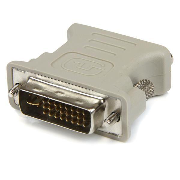 CONVERTIDOR DVI-I A VGA HD15 BCO STARTECH DVIVGAMF