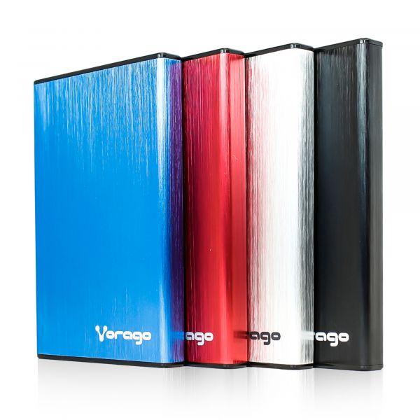 ENCLOSURE VORAGO HDD-201 PLATA DD 2.5 SATA USB 3.0